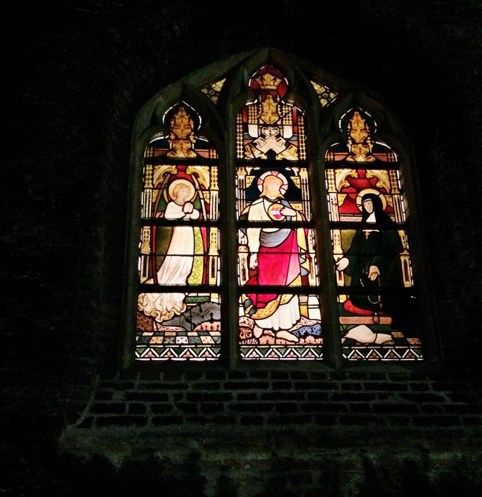 kirchenfenster brügge