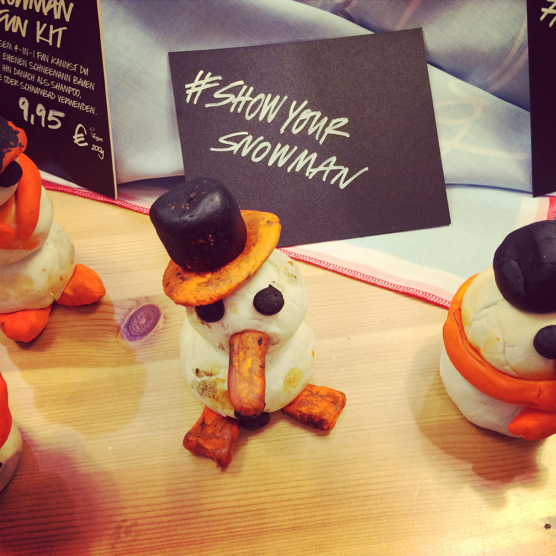Lush Snowman Fun