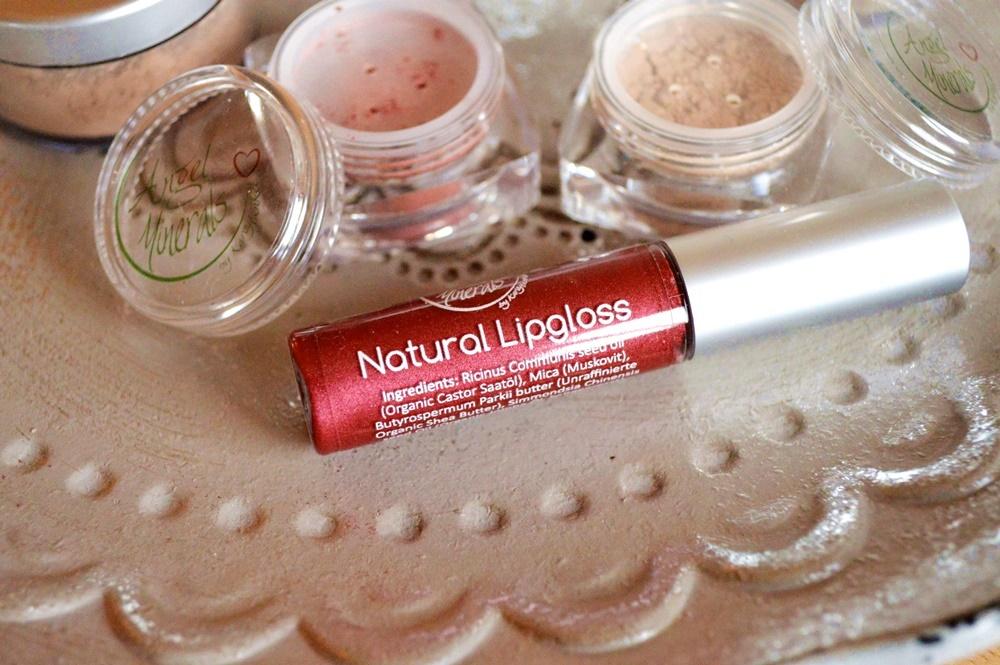 Angel Minerals ein bisschen vegan Natural Lipgloss