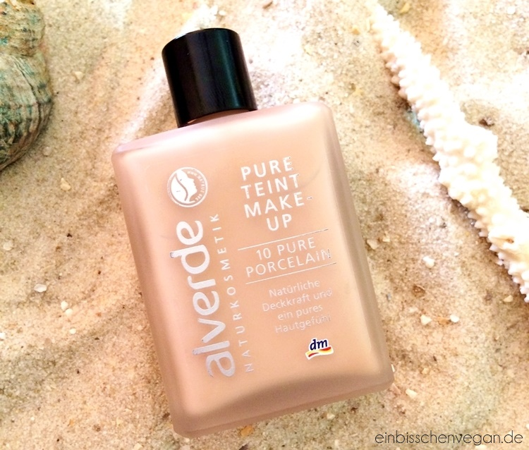 Alverde Pure Teint Make Up Review