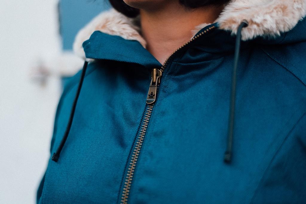 HoodLamb Classic Zipper Detail