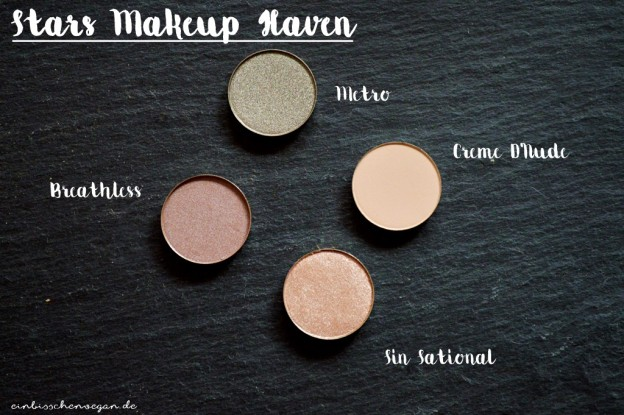 vegan Make Up Eyeshadow