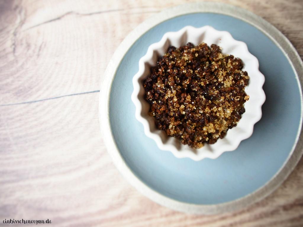 vegan Rezept Kaffee Peeling