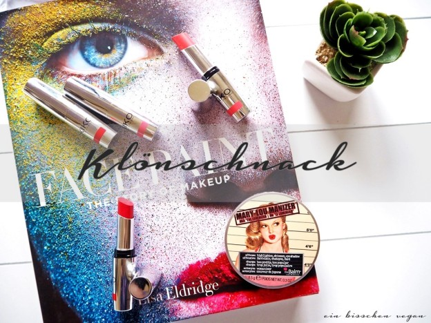 Klönschnack Lisa Eldridge The Balm Kiko