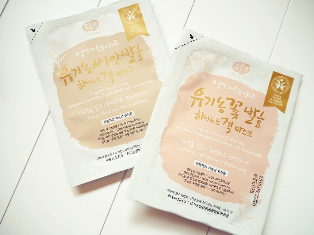 Naturkosmetik Korea Masken