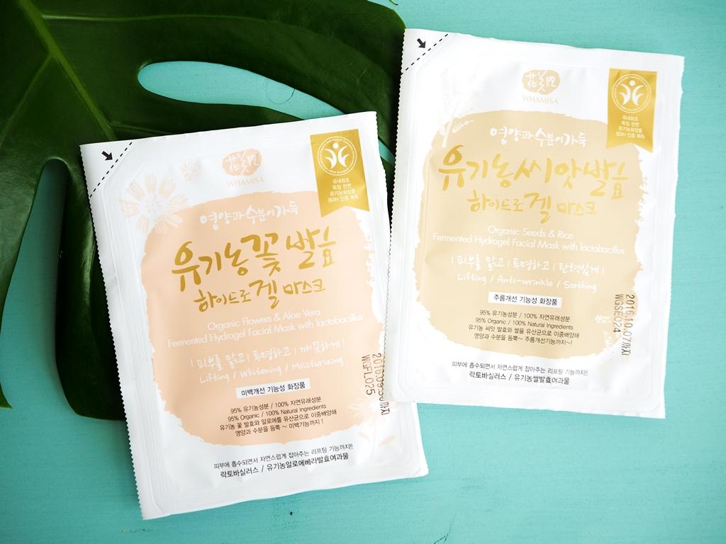 Koreanische Masken Whamisa vegan