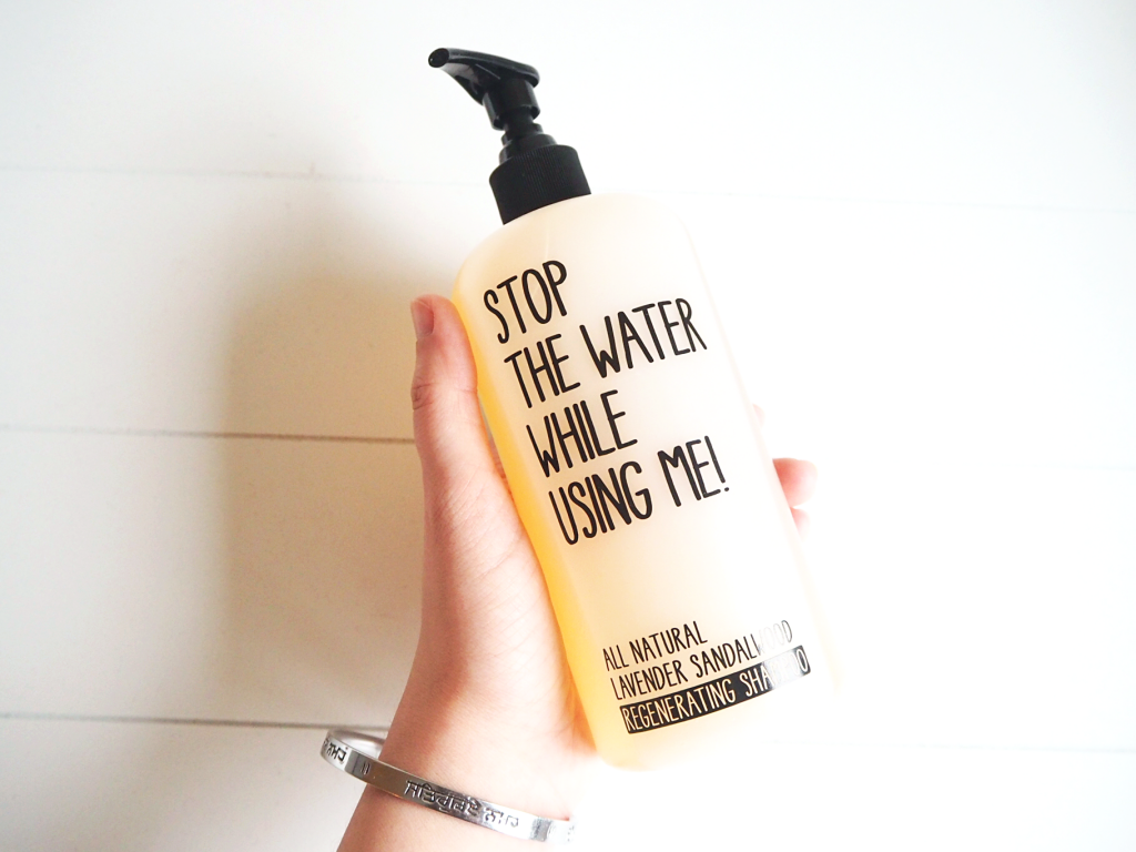 Stop The Water While Using Me Regenerating Shampoo