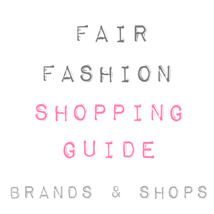 Fair Fashion Shopping Guide Brand Shops