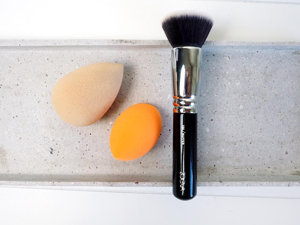 Die besten veganen Pinsel für flüssiges Make Up