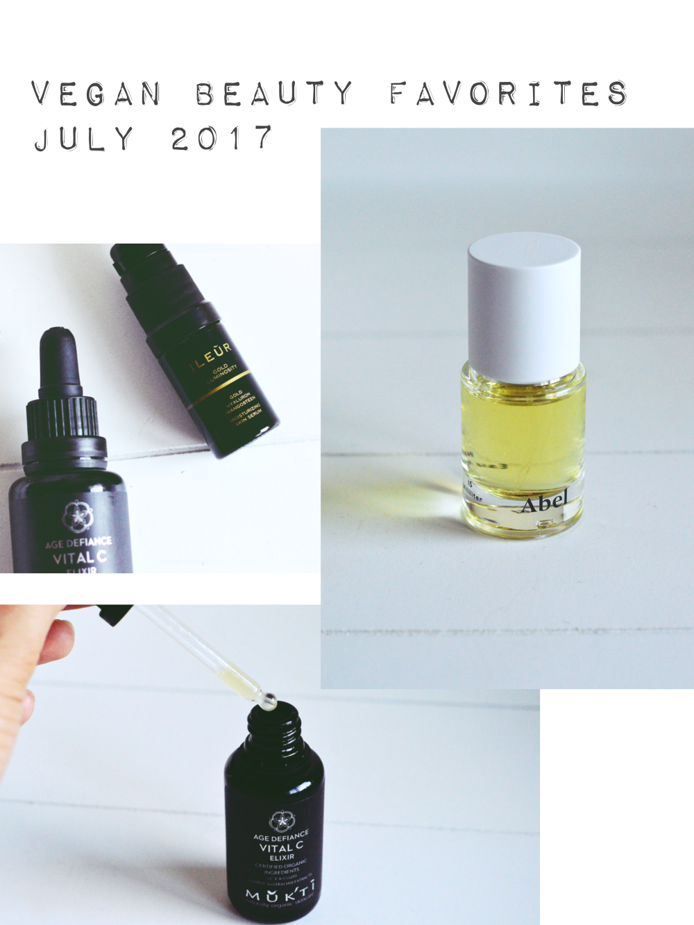 Vegan Beauty Favorites July 2017
