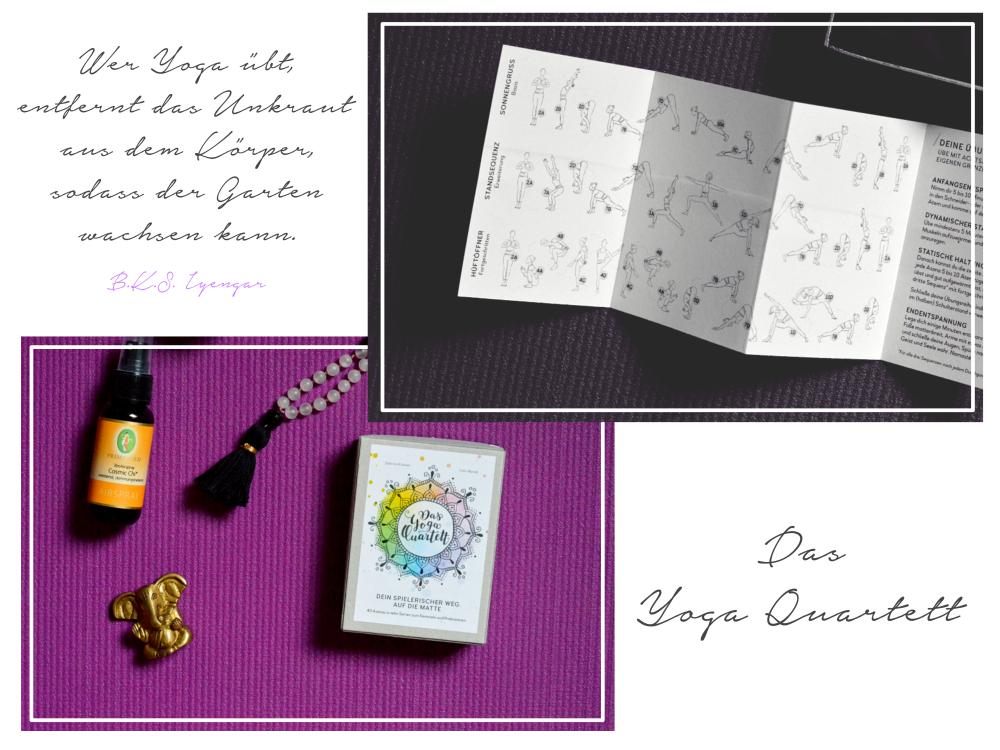 Das Yoga Quartett Kartenspiel