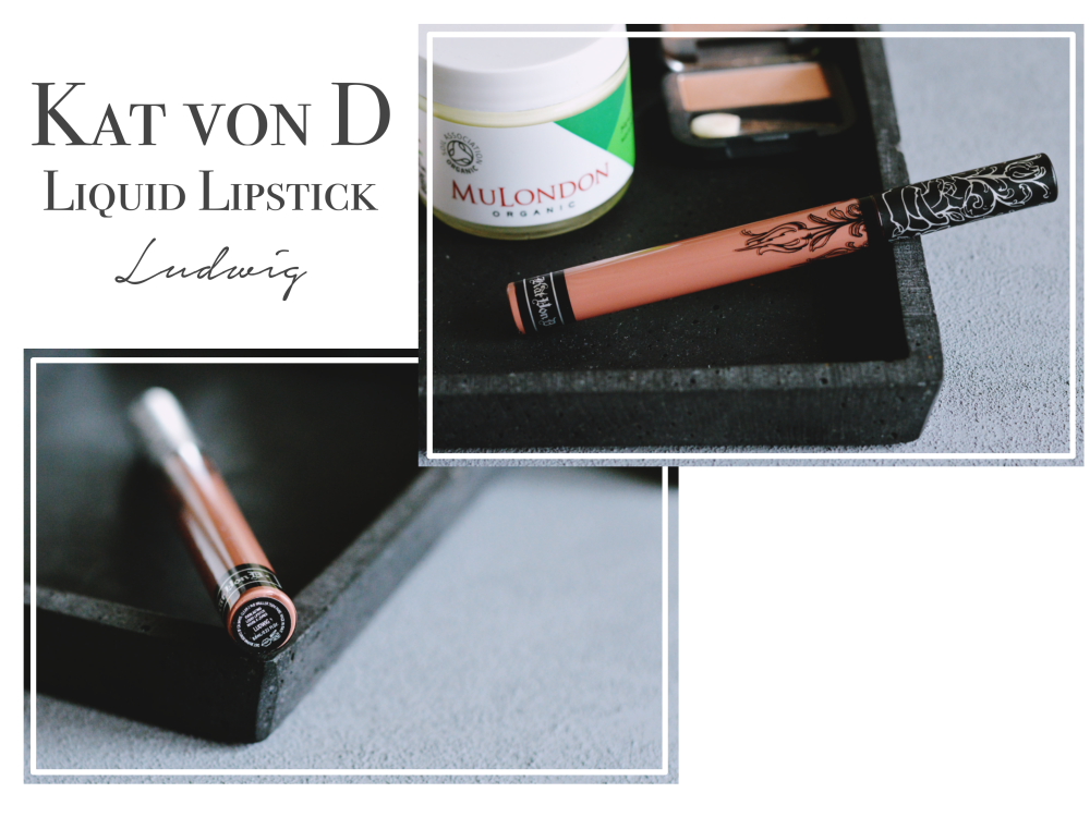 Vegane Beauty Favoriten Kat von D Ludwig