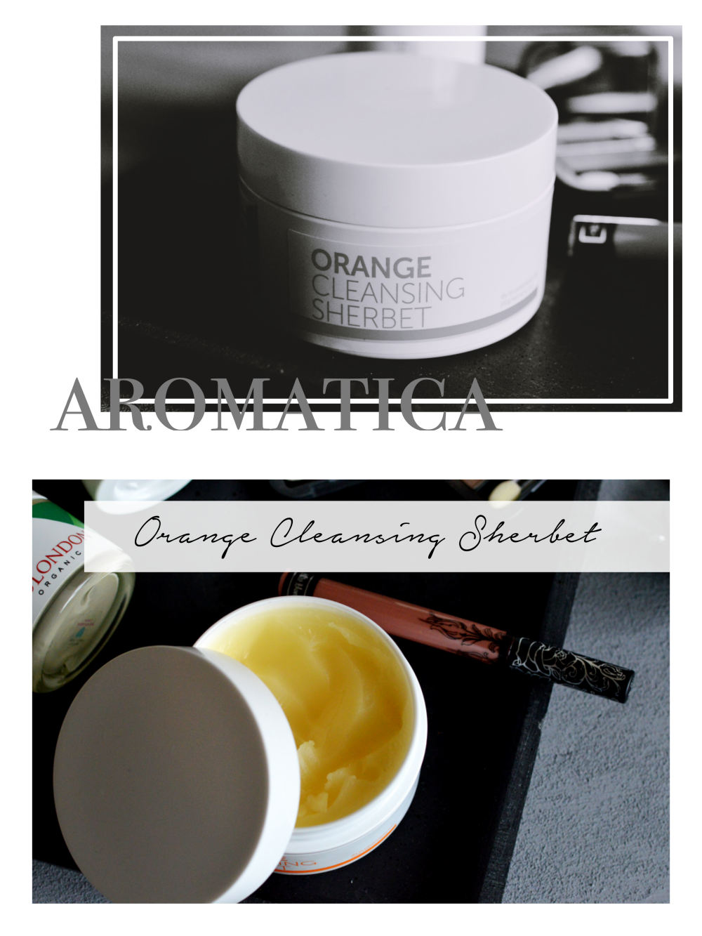Vegan Beauty Favorites aromatica cleansing sherbet