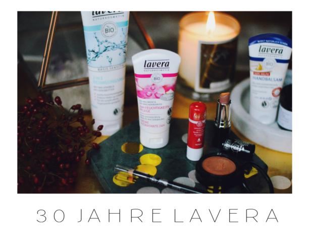 30 Jahre Lavera Naturkosmetik in der Drogerie