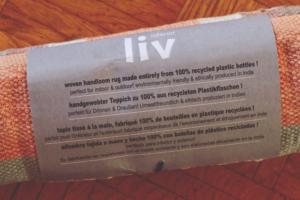 Teppich aus Plastikflaschen 100% recycelte liv interior