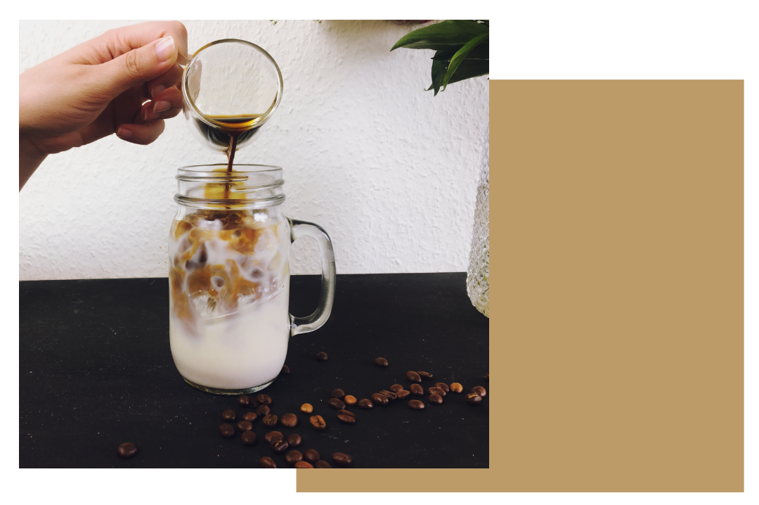 Vegan Iced Coffee Veganer Eiskaffee