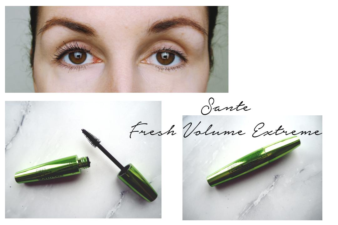 Vegane Mascara im Test Sante Fresh Volume Extreme