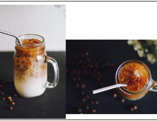 Vegan Iced Coffee mit Baileys Almande