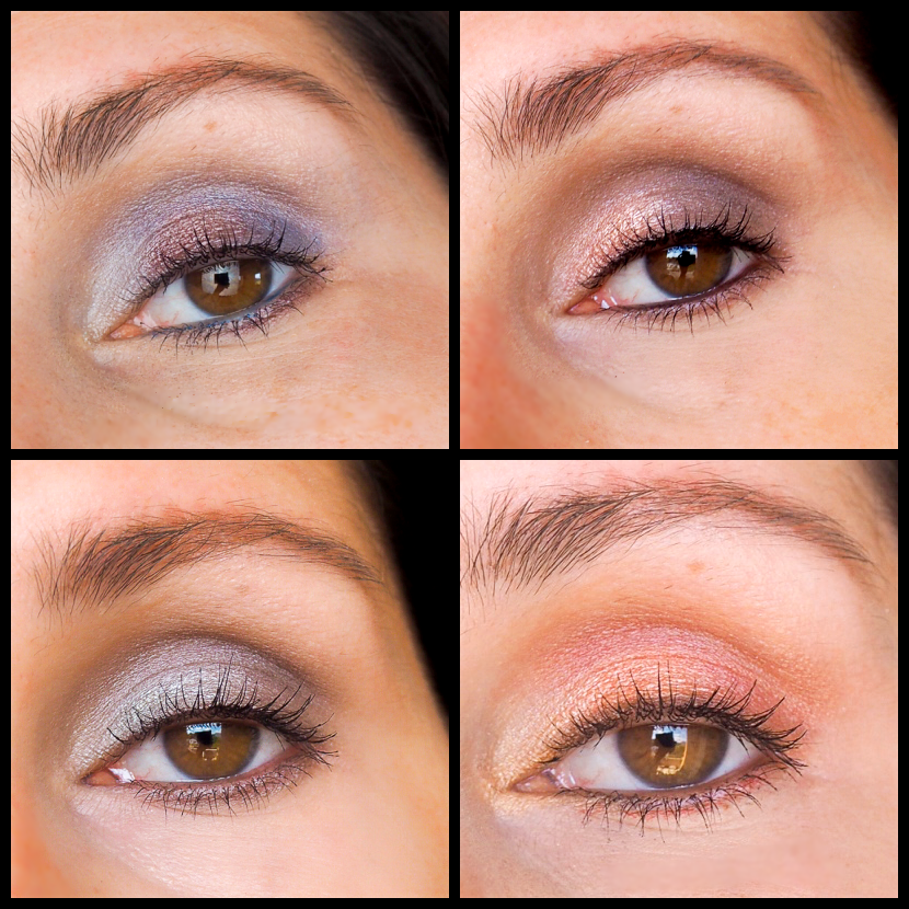 Galaxy Chic Eyeshadow Palette bh cosmetics Review Looks