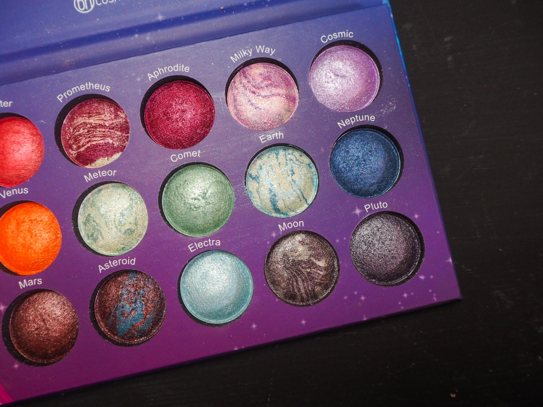 bh cosmetics Galaxy Palette Review