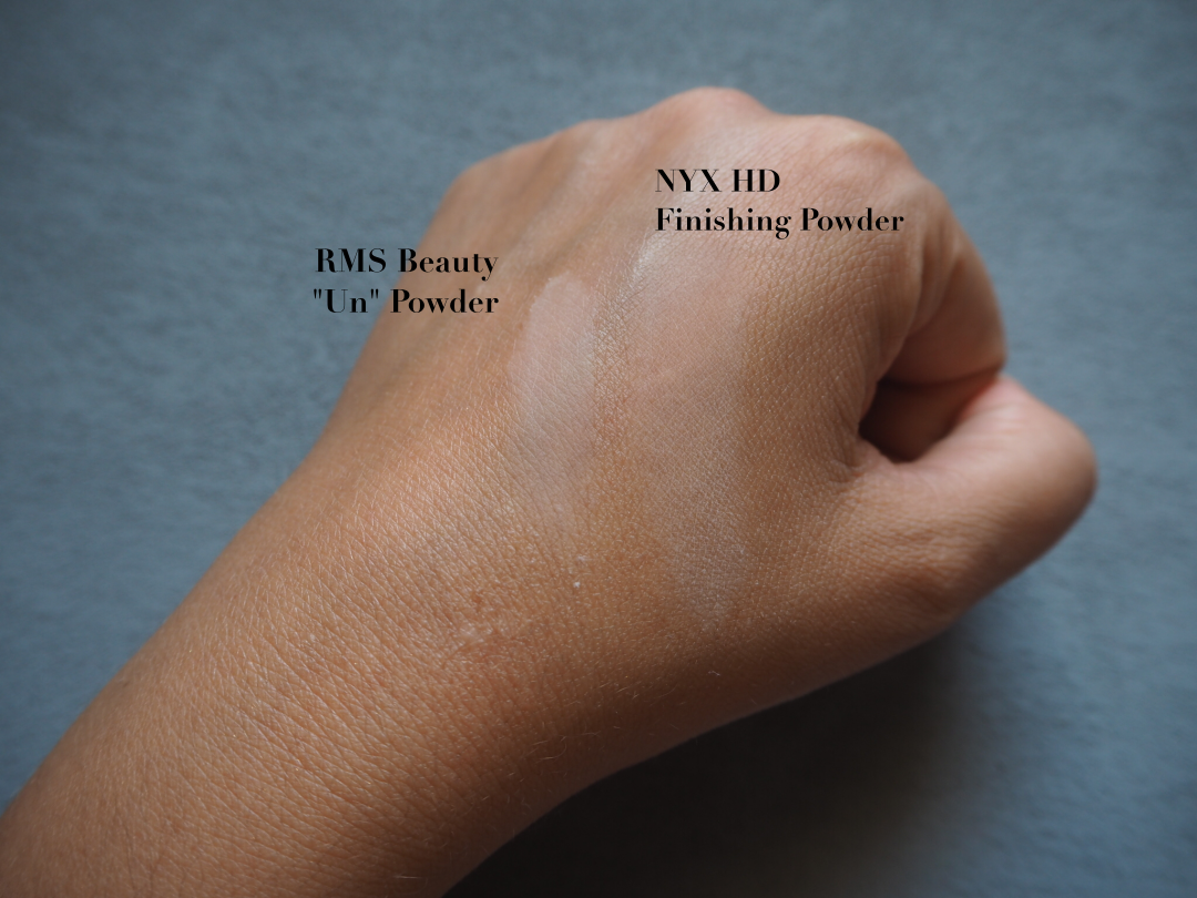 NYX Studio HD Finishing Powder RMS  Powder im Vergleich