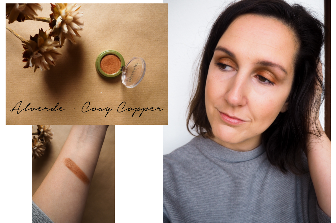 Mono Eyeshadow Look Cozy Copper Alverde