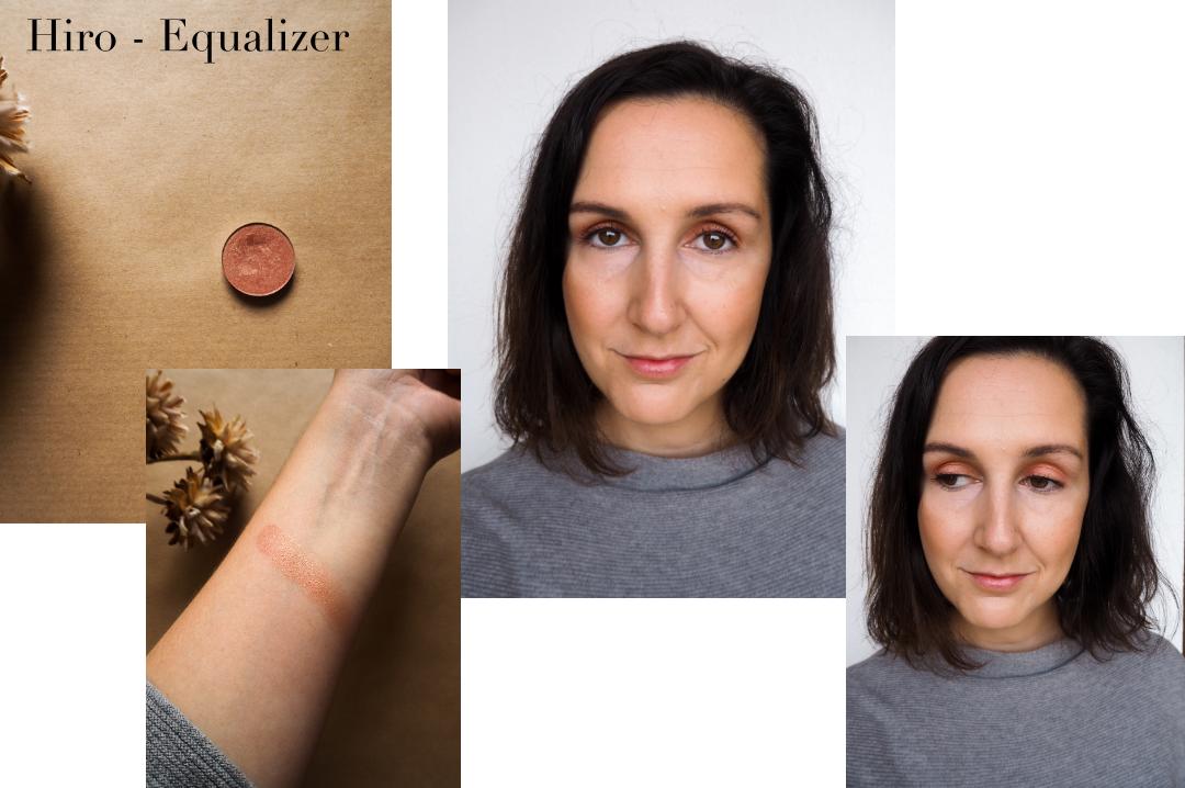 Mono Eyeshadow Look Hiro Cosmetics Equalizer