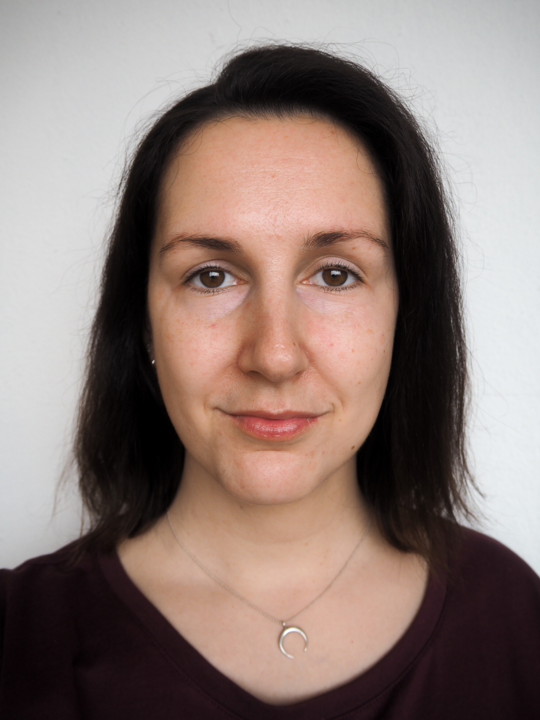 echtkathrin no makeup vs no makeup look
