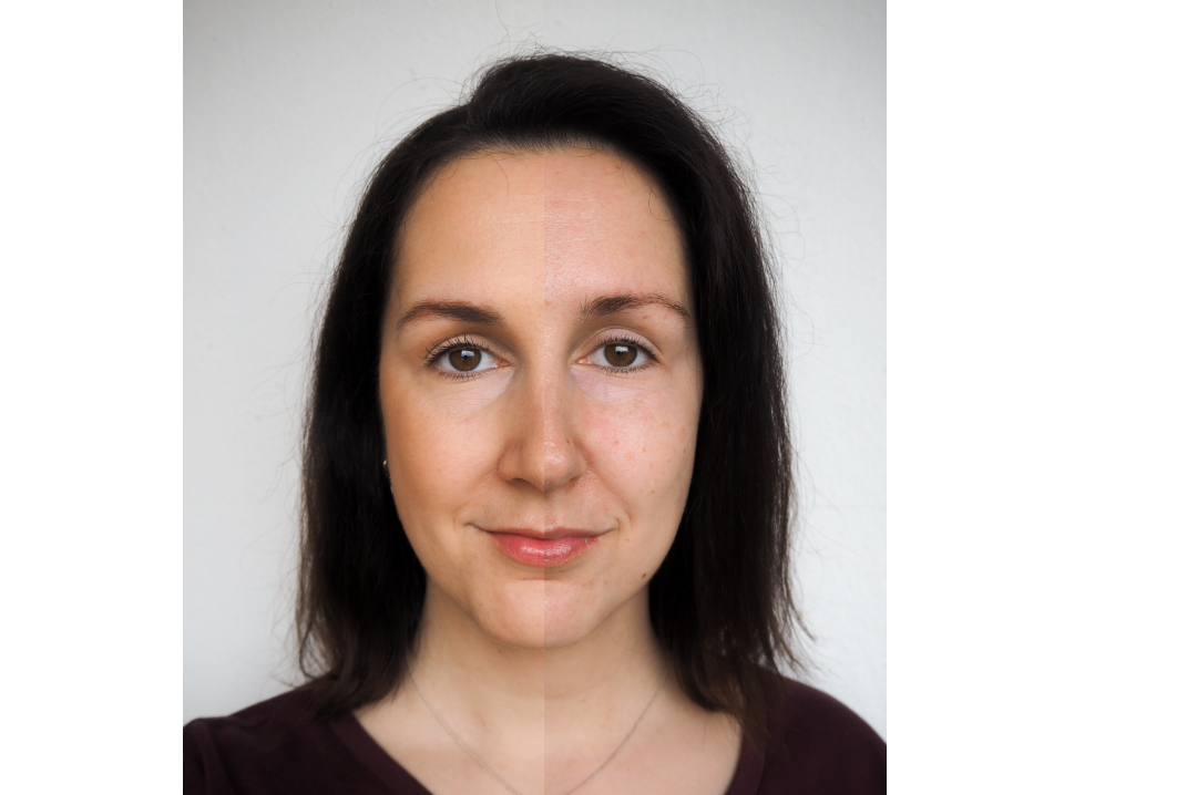 echtkathrin woman without makeup no makeup vs no makeup look