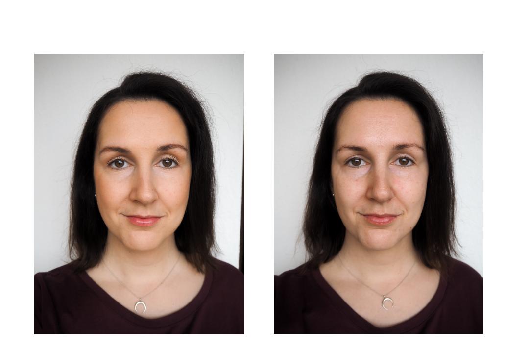 echtkathrin no makeup vs no makeup look ungeschminkt