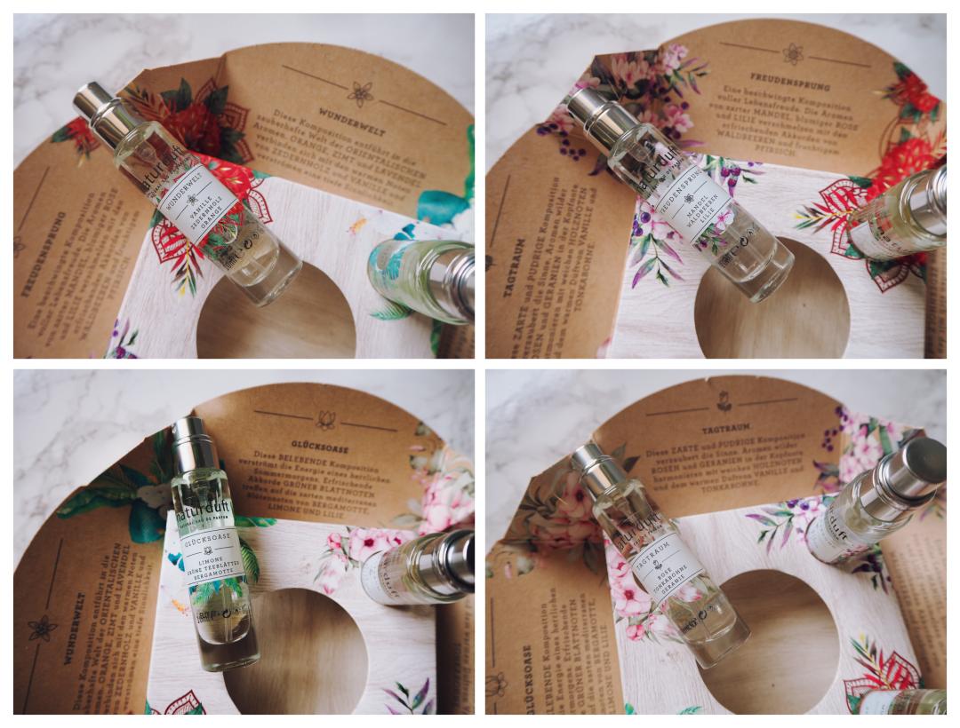 Eine Review der neuen Alverde Naturparfums