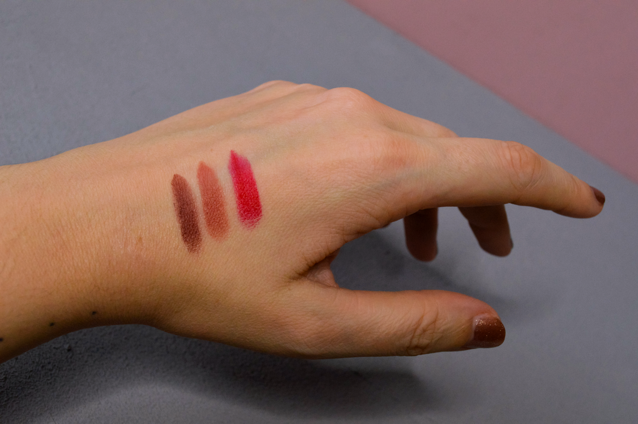 Lisa Eldridge Velvet Lipstick Swatches