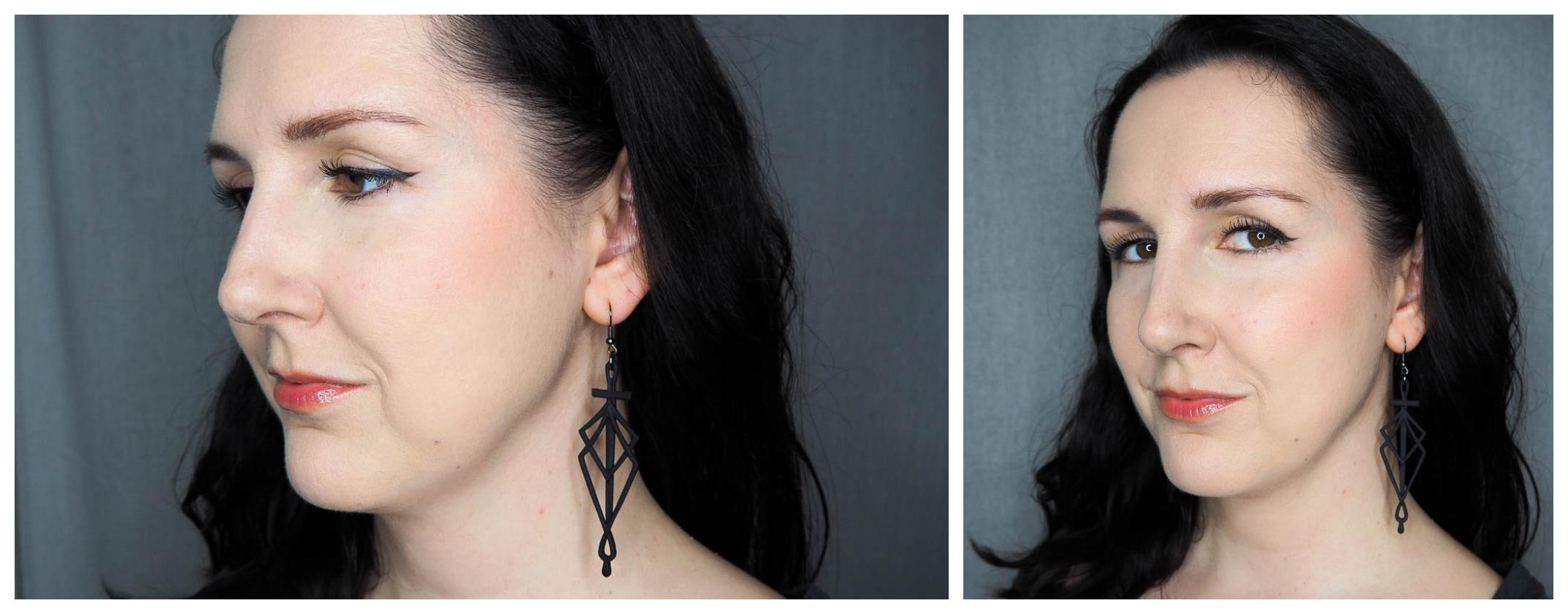 LOV x Laetitia Lemak Sculpting Glow Palette Blush Review