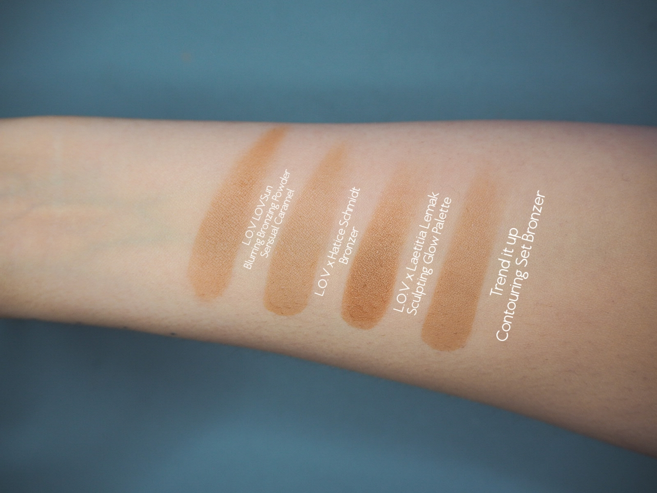 Cruelty Free Bronzer Swatches