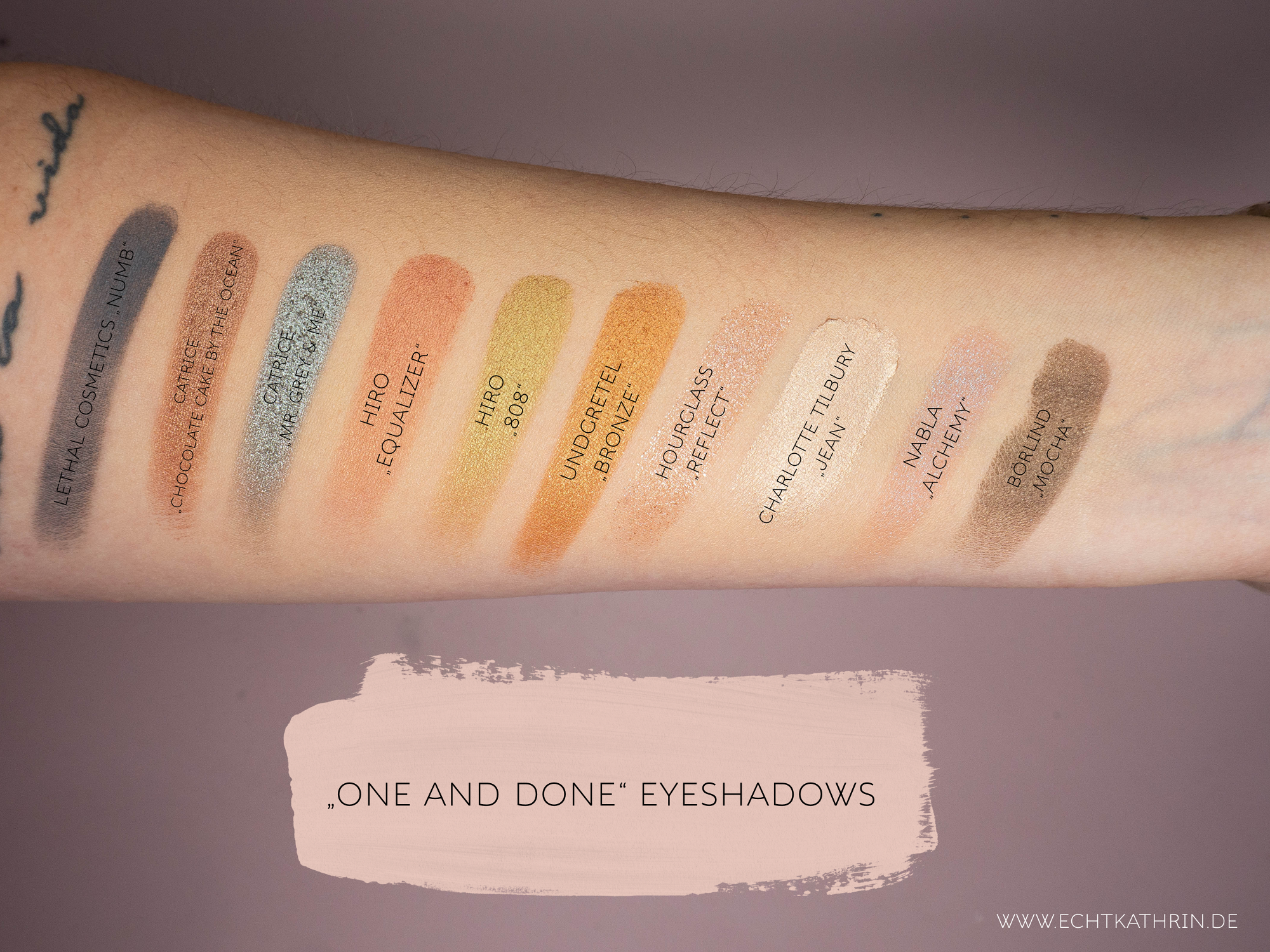 one and done eyeshadow favorite
