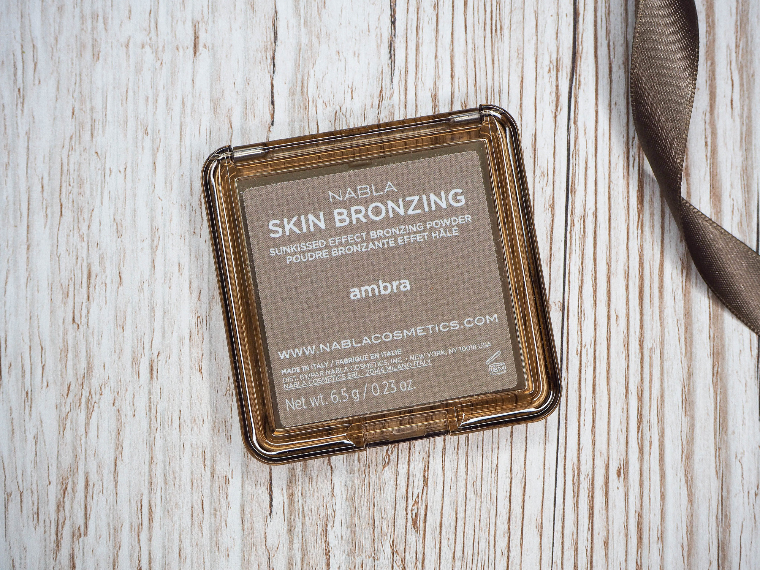 Nabla Skin Bronzing Ambra Bronzer